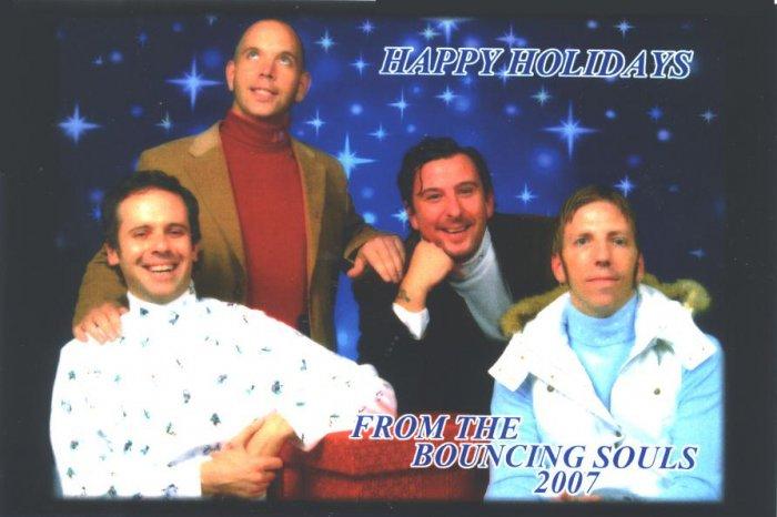 Bouncing Souls 2007 Christmas Card