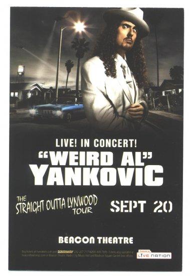 5 Weird Al Yankovic Handbills
