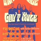 5 Gov't Mule New Years Eve Handbills