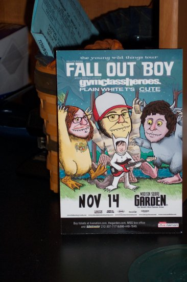 5 Fall Out Boy Handbills