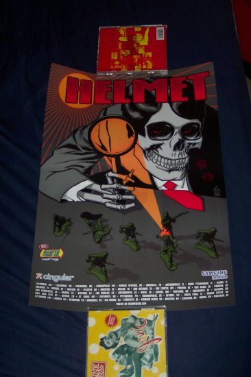 Helmet  2006 Warped Tour Poster