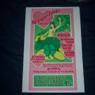 Burlesque Pin-Up Punk Rock St. Patricks Day Poster