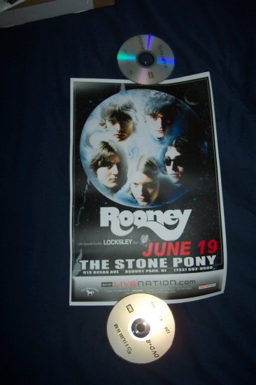 Rooney Tour Poster
