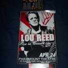 Lou Reed Tour Poster