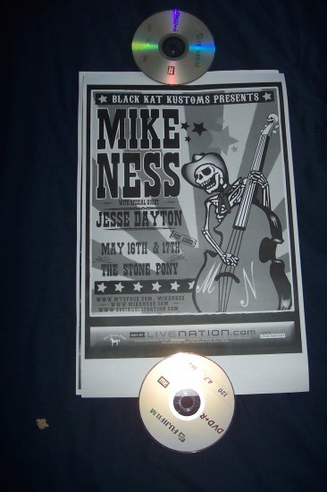 Mike Ness Bruce Springsteen Tour Poster