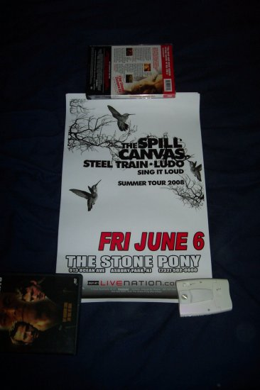 The Spill Canvas Tour Poster