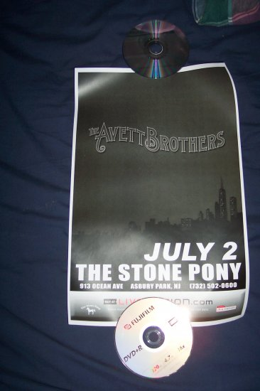 The Avett Brothers Tour Poster