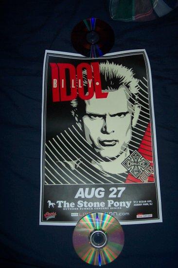 Billy Idol Tour Poster