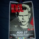 Billy Idol Tour Poster