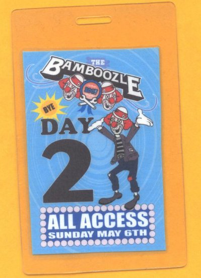 Linkin Park - Bamboozle 2007 - Backstage Pass