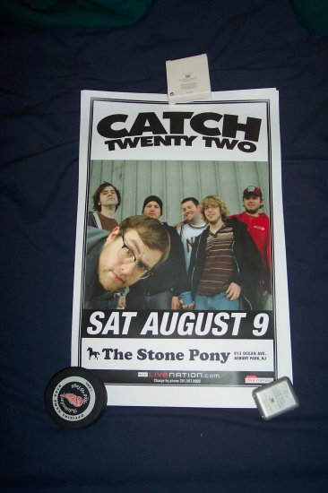 Catch 22 Tour Poster