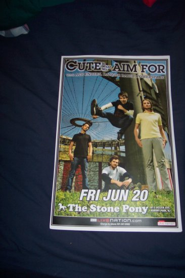 Cute Is What We Aim For Tour Poster