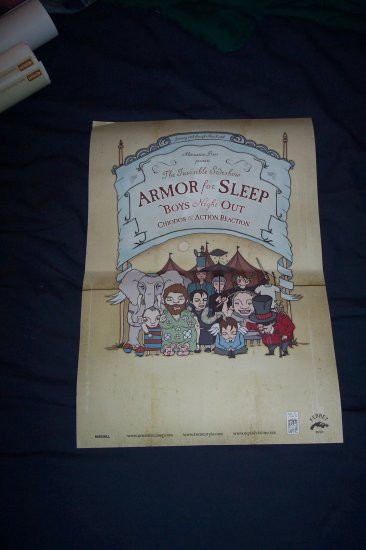 Armor For Sleep Chiodos Boy Night Out Tour Poster