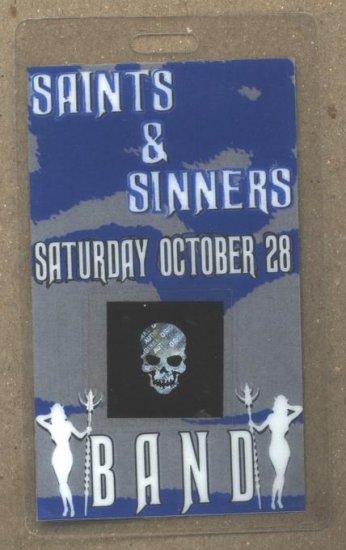 Atreyu Saints and Sinners Backstage Pass Chiodos