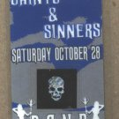 Atreyu Saints and Sinners Backstage Pass Chiodos