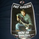 Pat Green Tour Poster