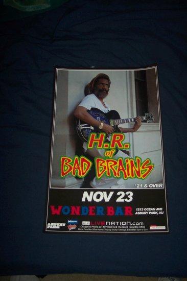 H.R. Bad Brains Tour Poster