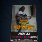 H.R. Bad Brains Tour Poster