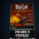 Meat Loaf Tour Poster