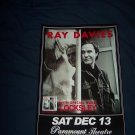 Ray Davies Tour Poster The Kinks
