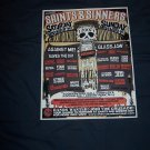 2007 Saints and Sinners Festival Poster Against Me Glassjaw  Gaslight Anthem