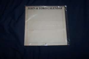 John Lennon and Yoko 1970 Calendar RARE Beatles