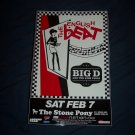 The English Beat Tour Poster Big D and the Kids Table