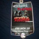 Methodman/Redman Tour Poster Wu Tang Clan