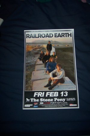 Railroad Earth Tour Poster