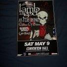 Lamb of God Tour Poster