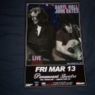 Hall and Oates Tour Poster