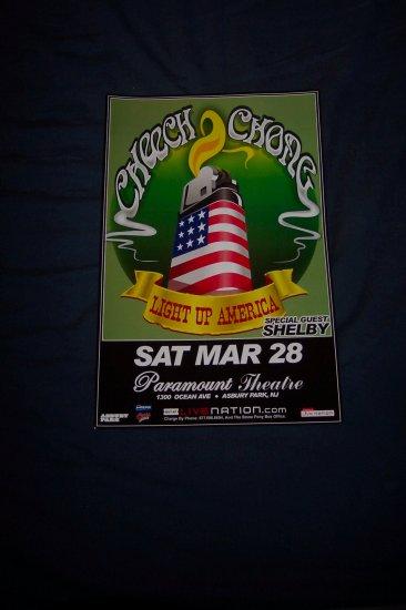 Cheech and Chong Concert Poster