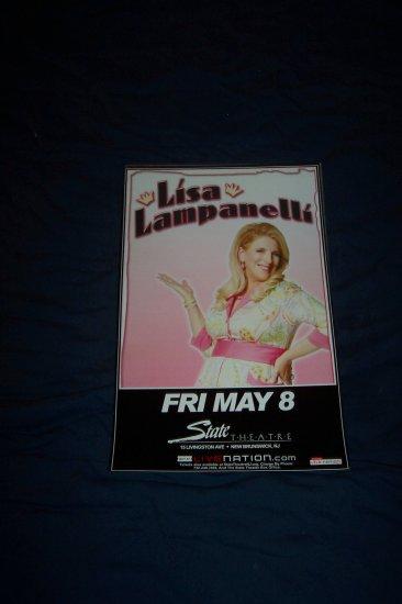Lisa Lampanelli Tour Poster Howard Stern