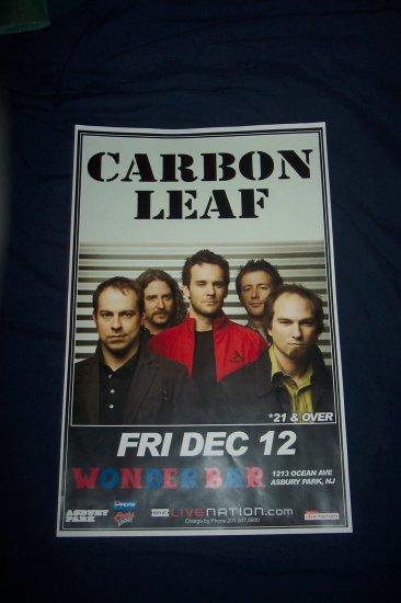 Carbon Leaf Tour Poster