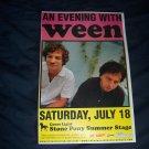 Ween Concert Poster
