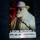 Leon Russell Concert Poster