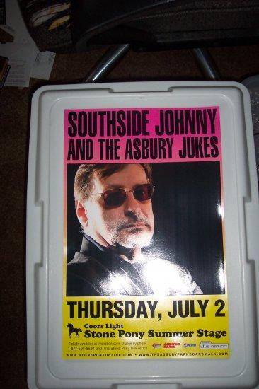 Southside Johnny Tour Poster Bruce Springsteen