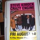 Steve Kimock Crazy Engine Concert Poster