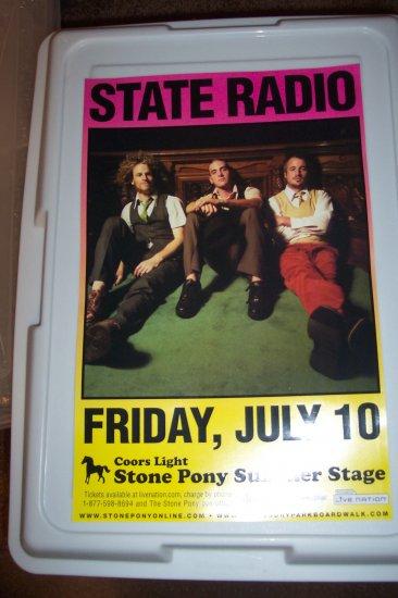 State Radio Concert Poster Dispatch