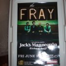 The Fray Jack's Mannequin Concert Poster