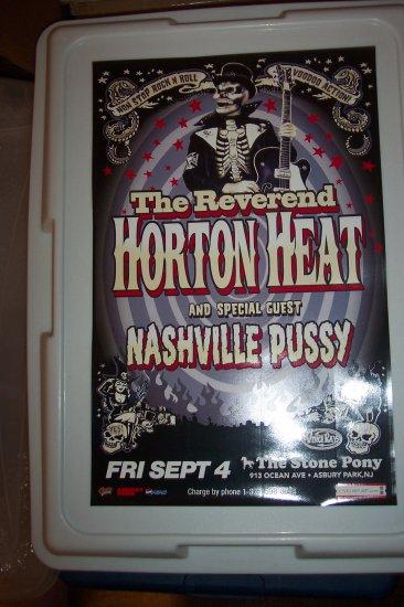 The Reverend Horton Heat Nashville Pussy Tour Poster