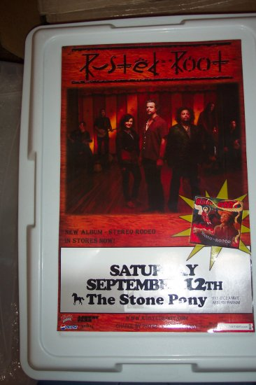 Rusted Root Concert Poster