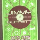 Jimmy Buffett Crew Pass