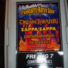 Dream Theater Concert Poster
