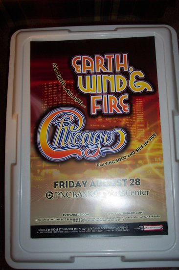 Earth Wind and Fire Chicago Tour
