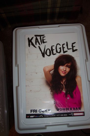 Kate Voegele Tour Poster One Tree Hill