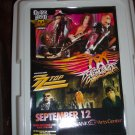 Aerosmith ZZ Top Tour Poster