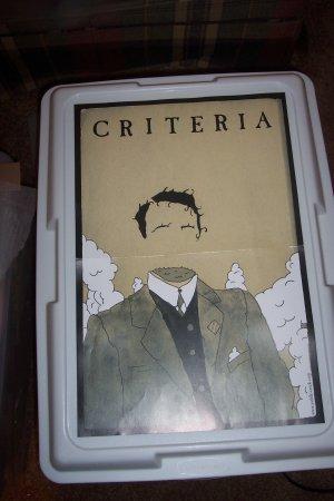 Criteria Album Poster