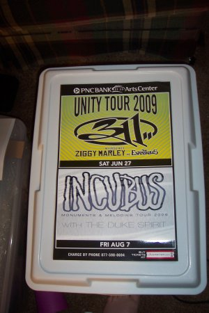 Incubus 311 Concert Poster
