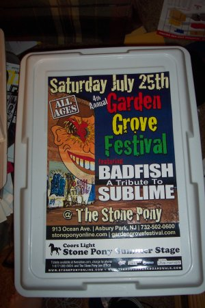 Badfish Tour Poster Sublime